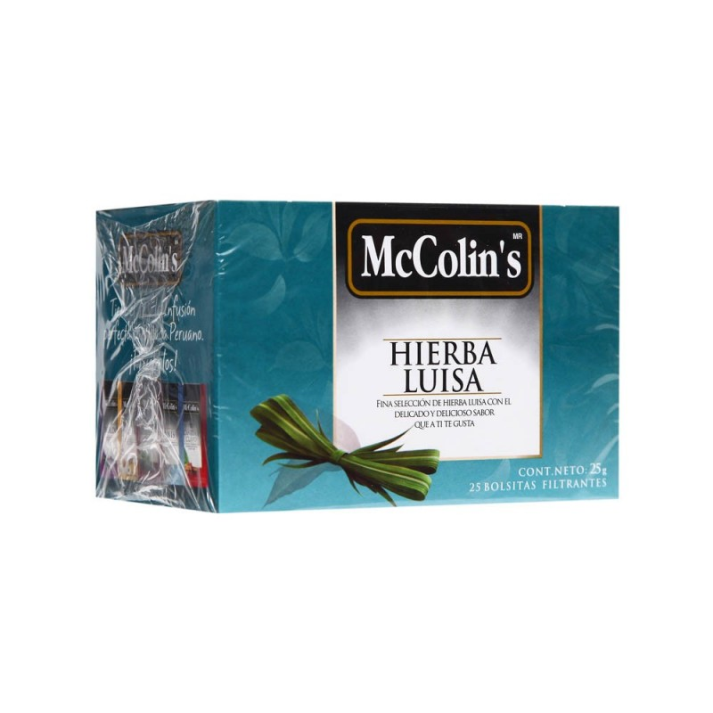McColins Lemon Grass Tea (Hierba Luisa / Lemon Verbena) - McCollins