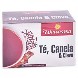 Wawasana Cinnamon and Clove Tea (Te, Canela y Clavo)